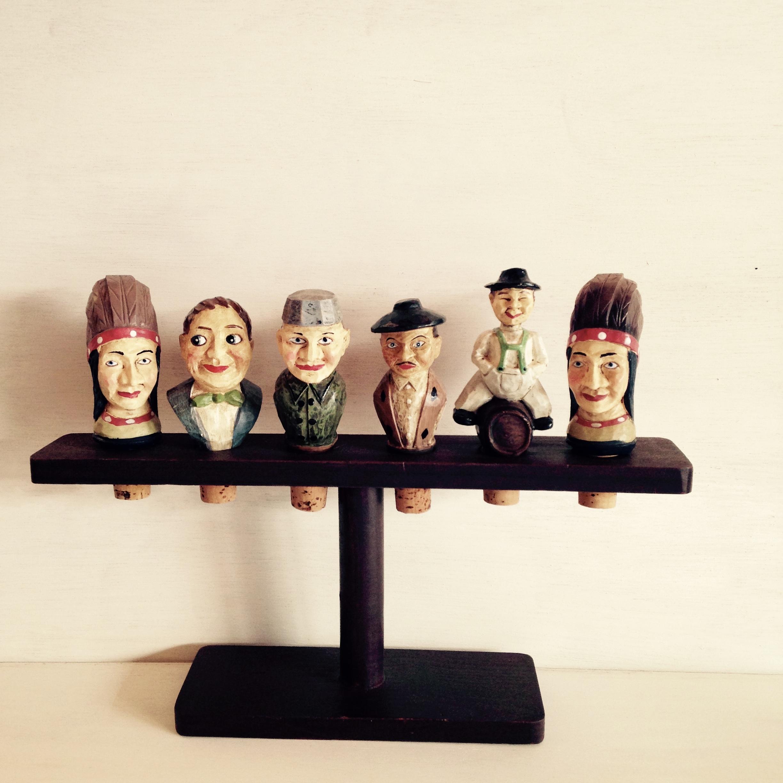 人形のコルク栓