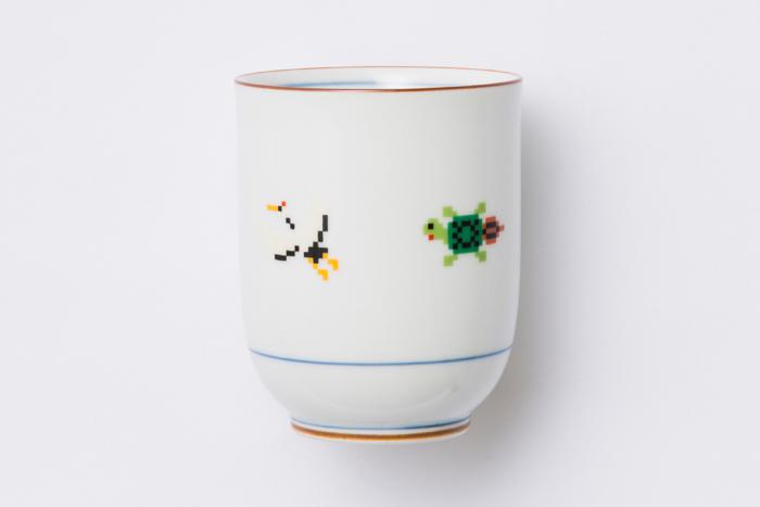 松竹梅 湯呑 / The Porcelains
