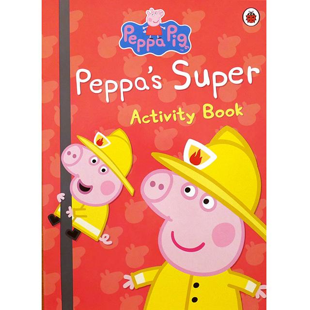 Peppa's Super Activity Book(ペッパピッグ)