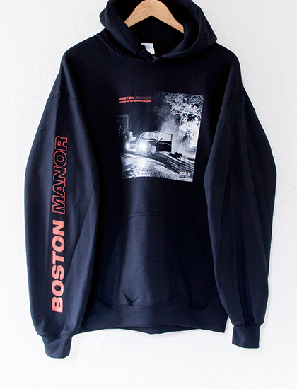 【BOSTON MANOR】Welcome To The Neighborhood Hoodie (Black)