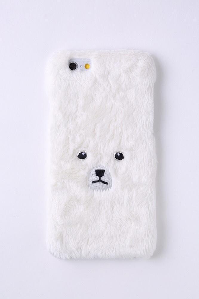 【iPhone6/6S専用】白くまiPhone6/6sハードケース
