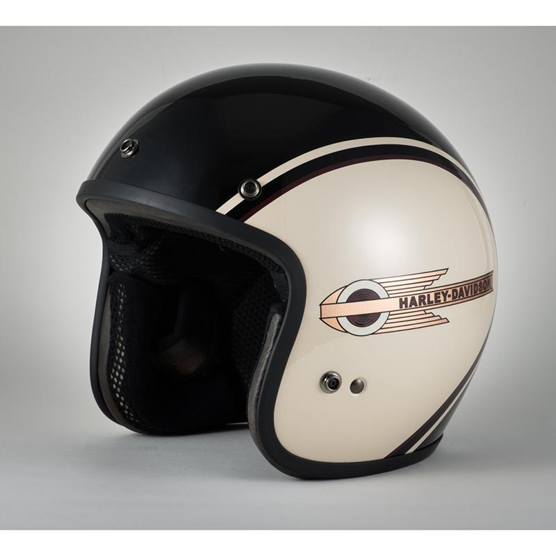 CLASSIC RETRO TANKヘルメット(B/W)