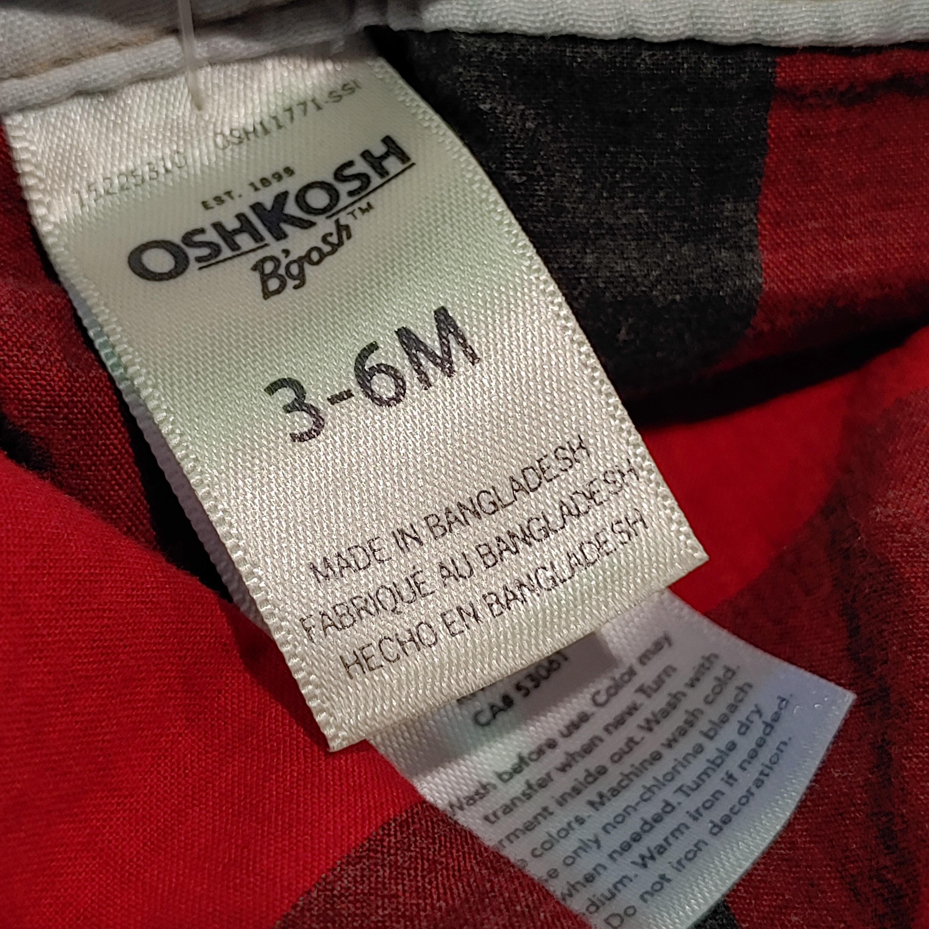 【BABY USED】Oshkosh Overall*3-6M