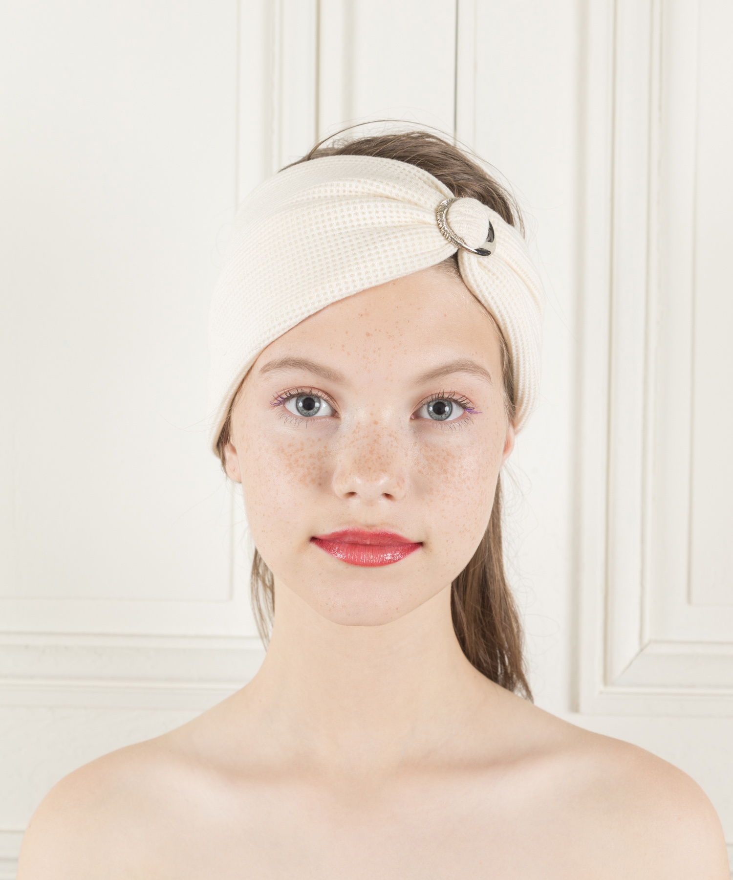 Joe19SS-24 buckle wafle fabric turban