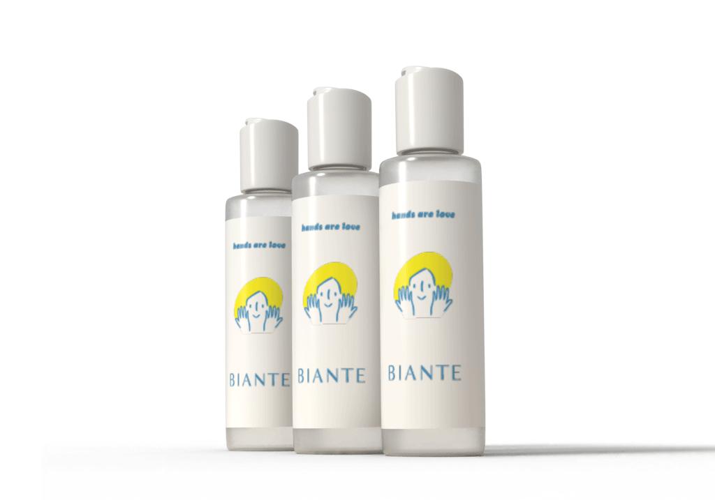 BIANTE 【医薬指定部外品】日本製アルコール消毒ハンドジェルEL70ml 速乾性のあるユーカリの香り 3本セット…