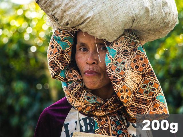 インドネシア |  ワハナ農園 ウェットハル | コーヒー豆200g