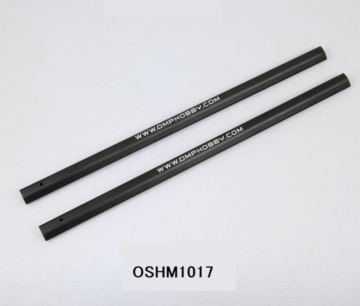 ◆M1メタルテールブーム 2ps  OSHM1017   (ネオヘリでM1購入者のみ購入可)