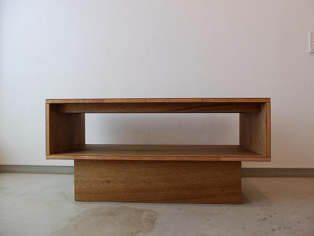 ラワン合板  ベンチテーブル