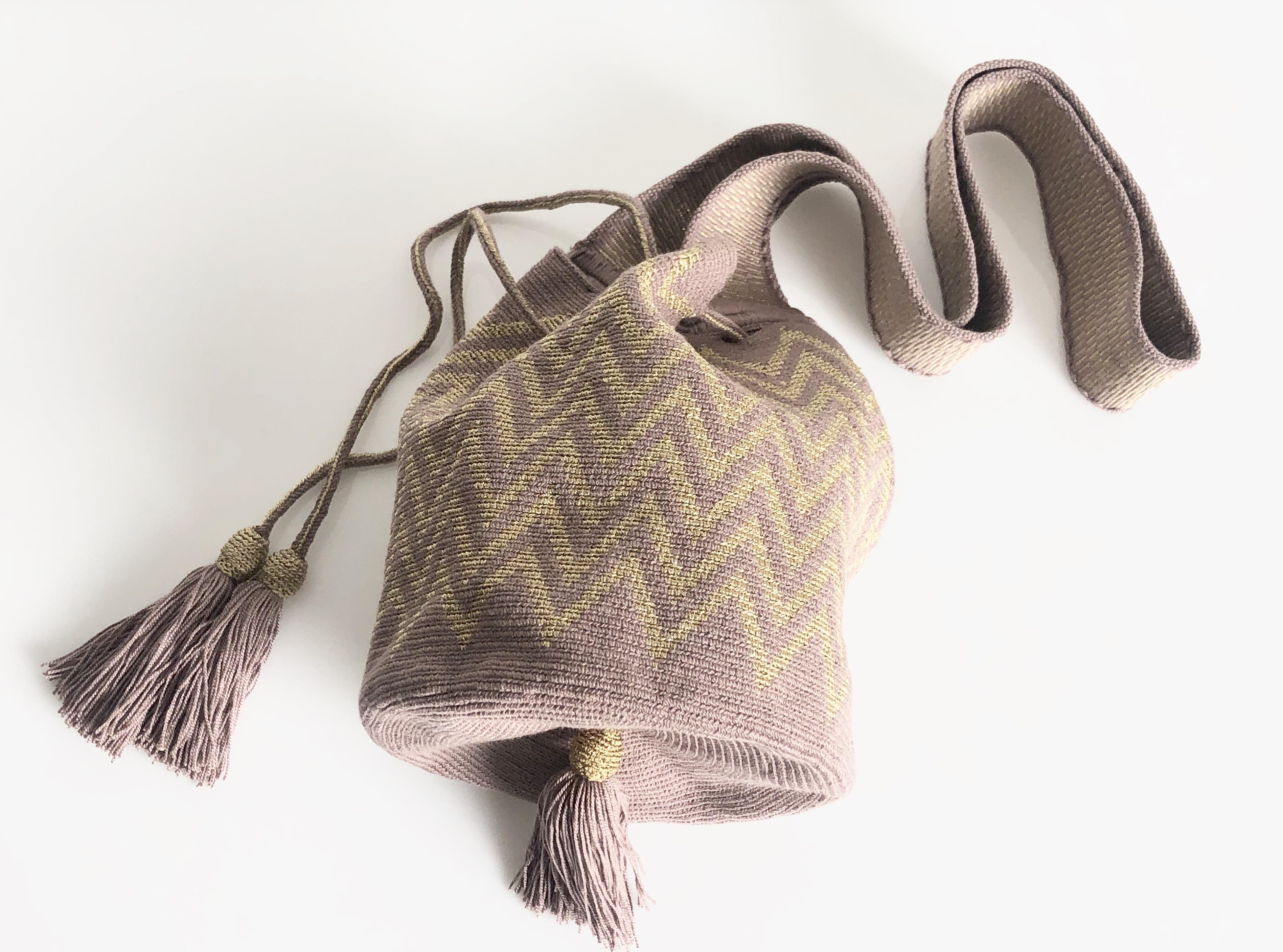 ワユーバッグ(Wayuu bag) Luxe line Sサイズ