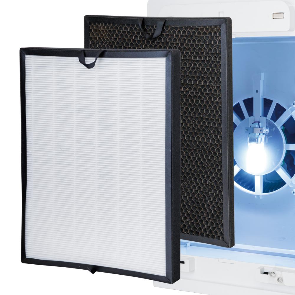 オゾン発生器BT-180H消耗品セット(HEPAフィルター・活性炭フィルター・UVランプ)(医事業務)