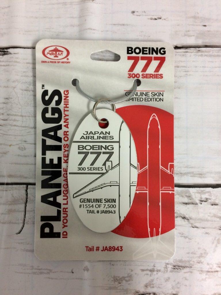 PLANE TAGS/BOEING777-300 JA8943