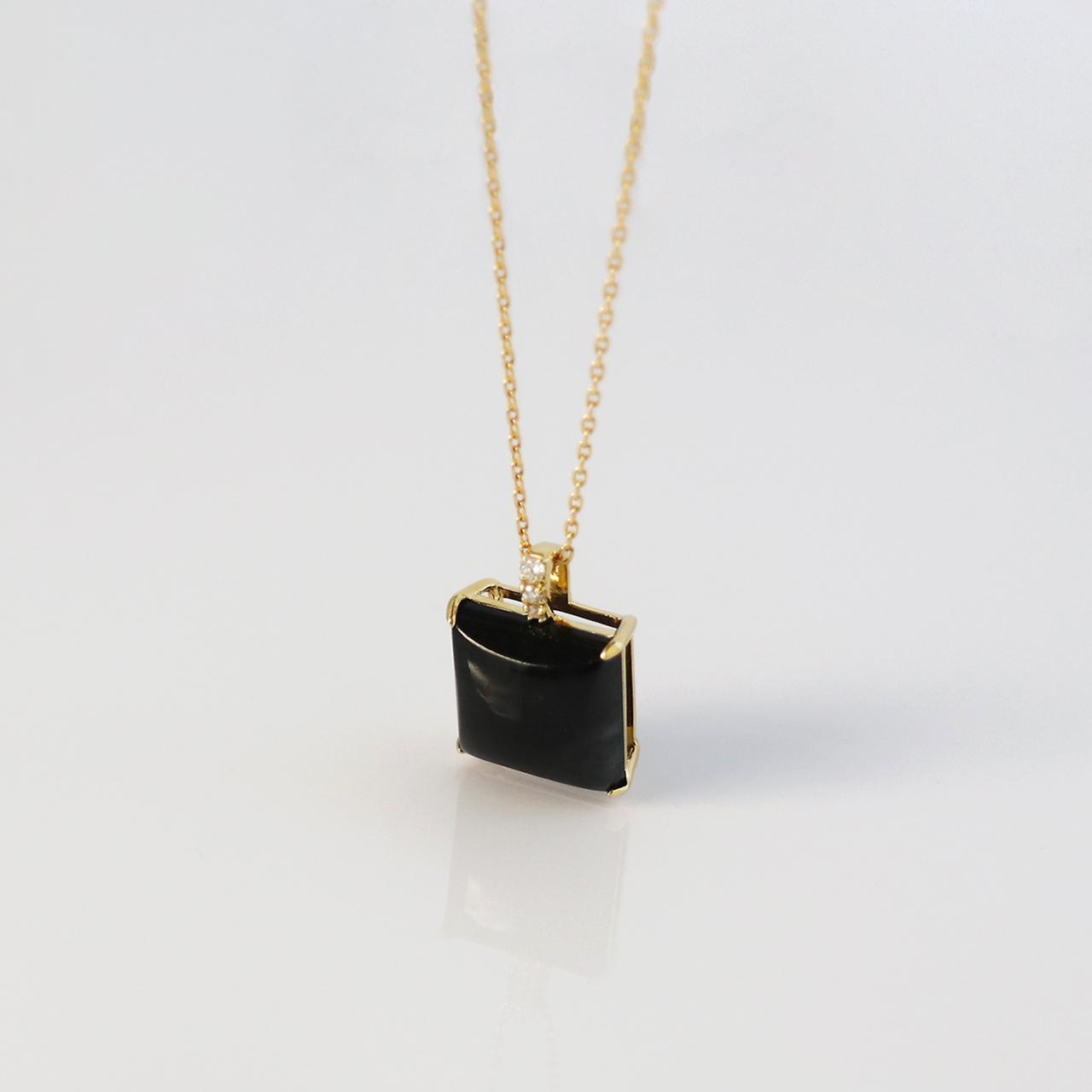 NAGI 'SUMI' / Necklace (Black)