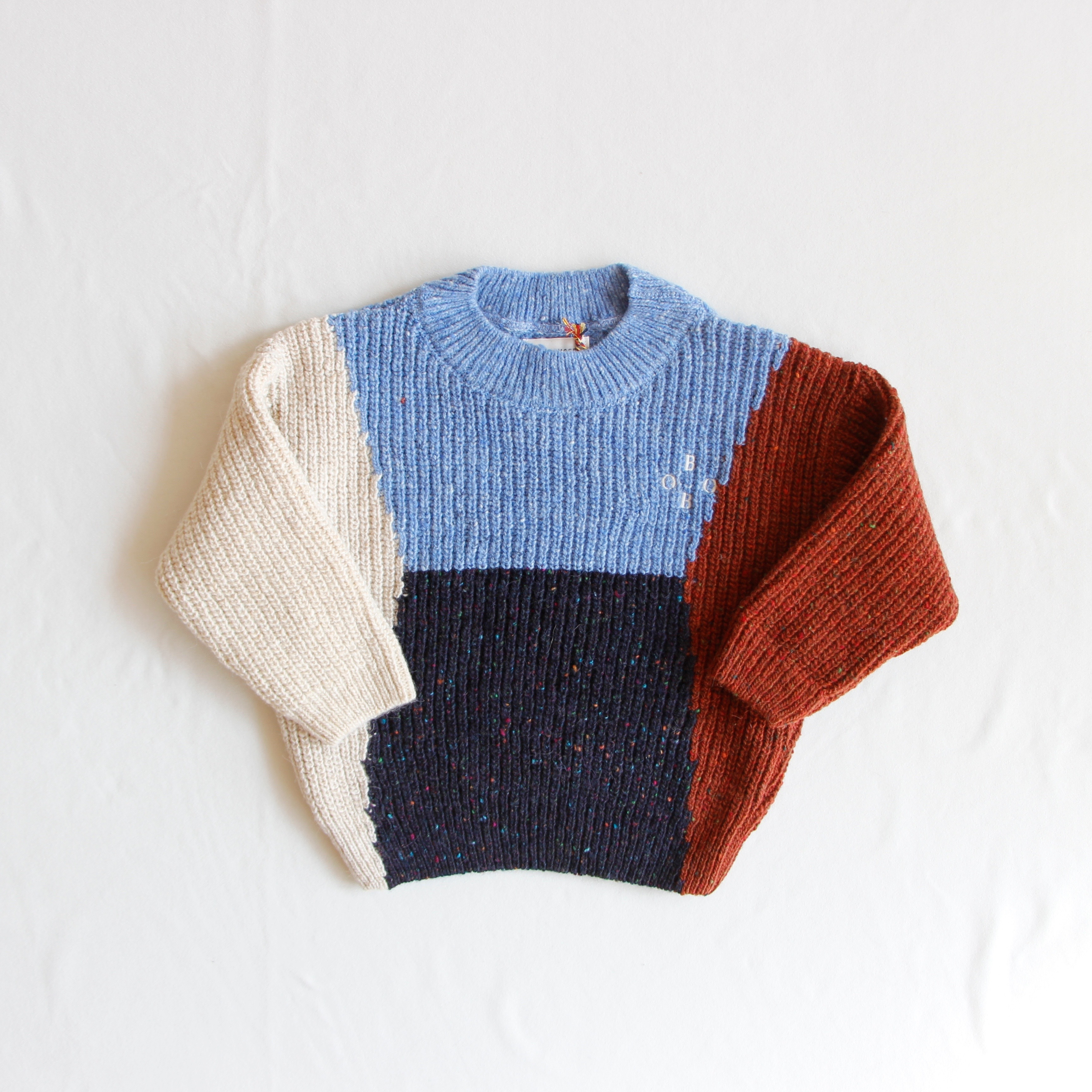 《BOBO CHOSES 2019AW》Color Block BOBO Jumper