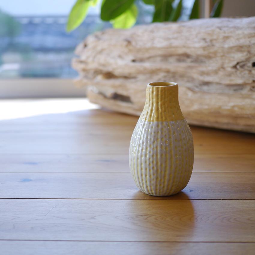 陶器  バド イエロー