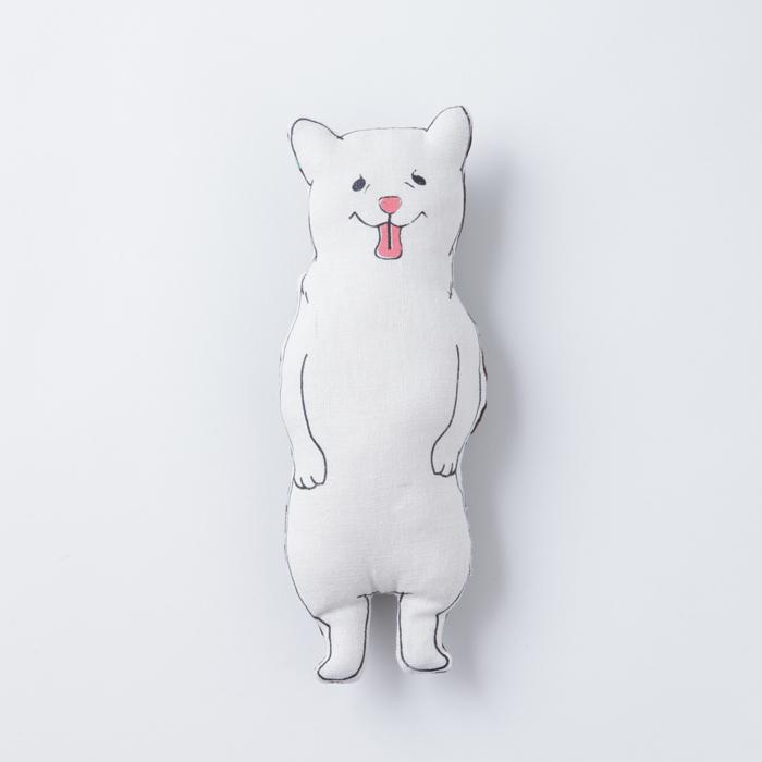 ポケットサイズ 小 白柴ちゃん ヌイグルミ