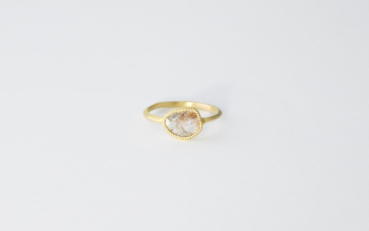 スライスダイヤモンドリング