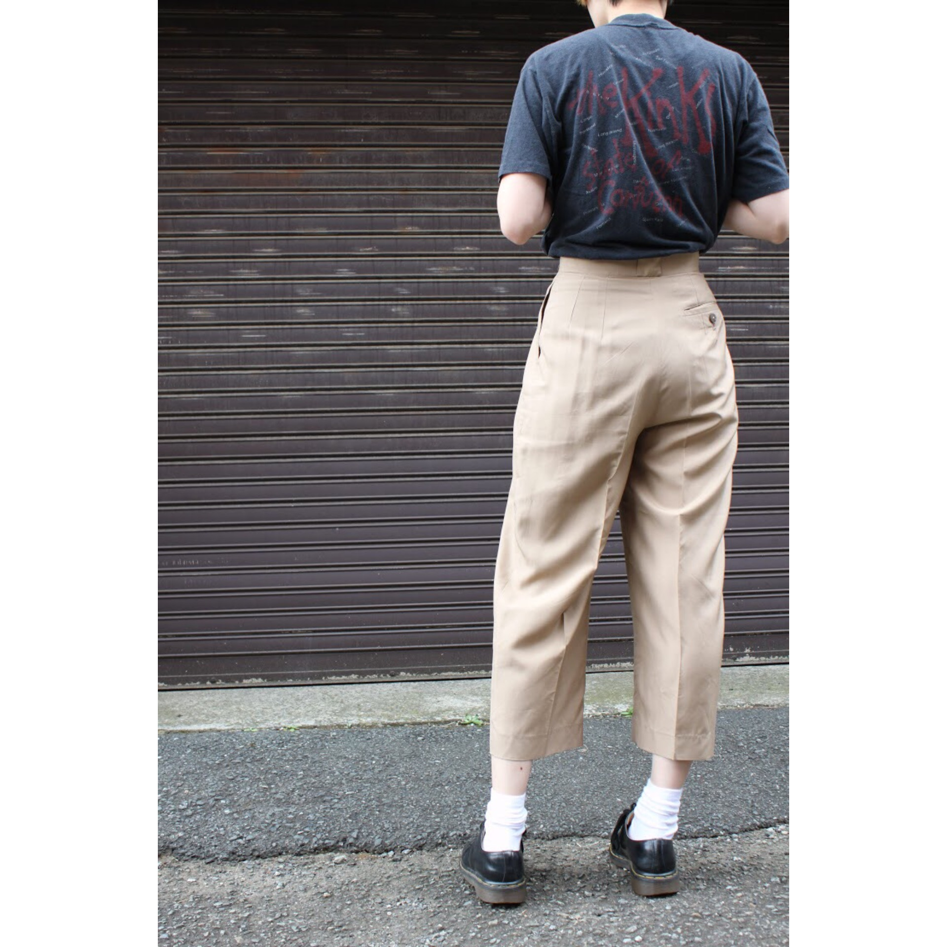 Vintage silk slacks