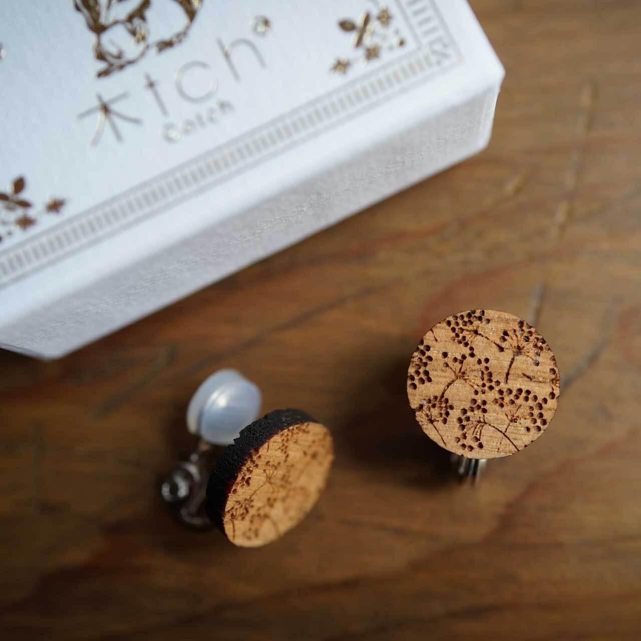 white dill / 可憐(Pierced Earring)