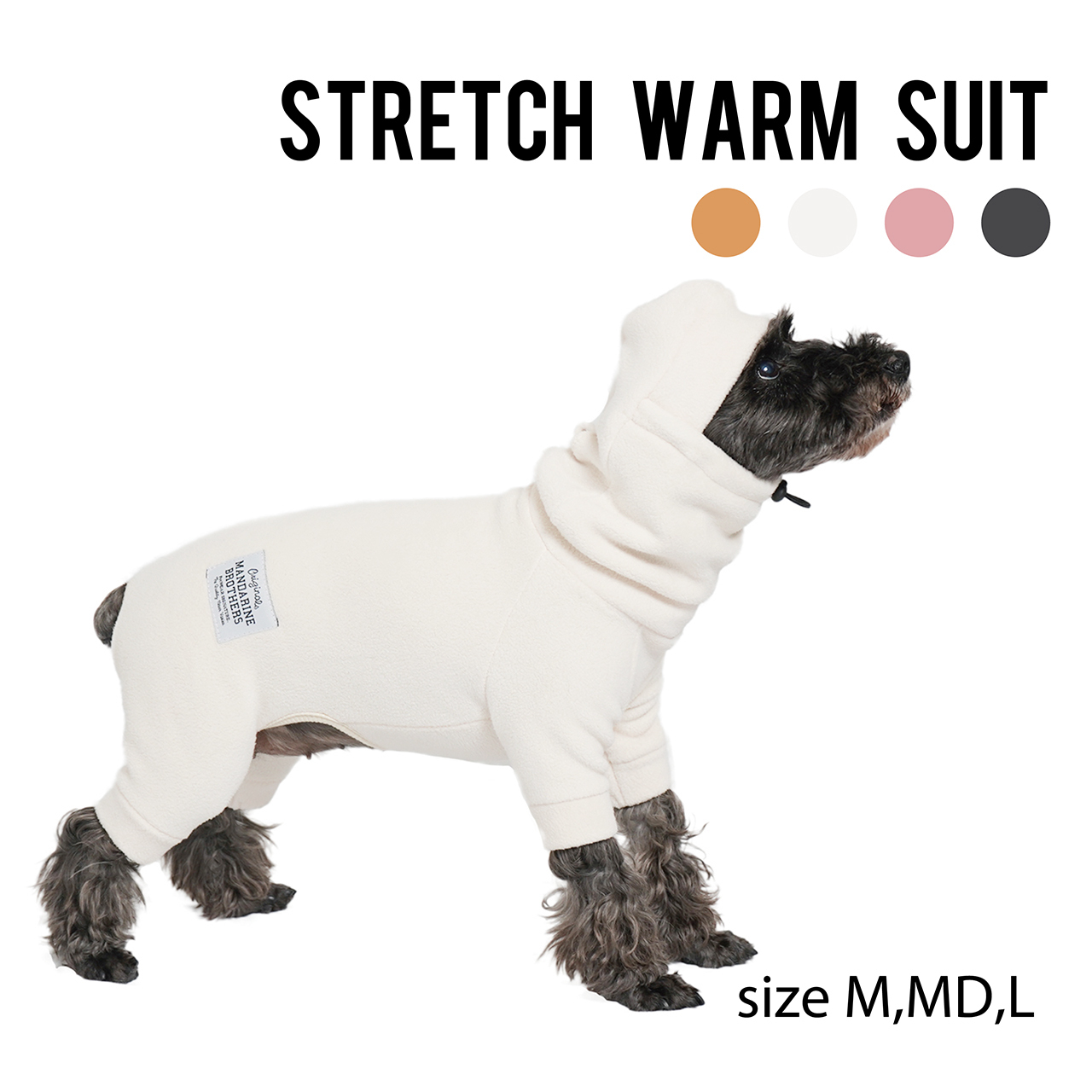 STRETCH WARM SUITS(M,MD,L)ストレッチウォームスーツ