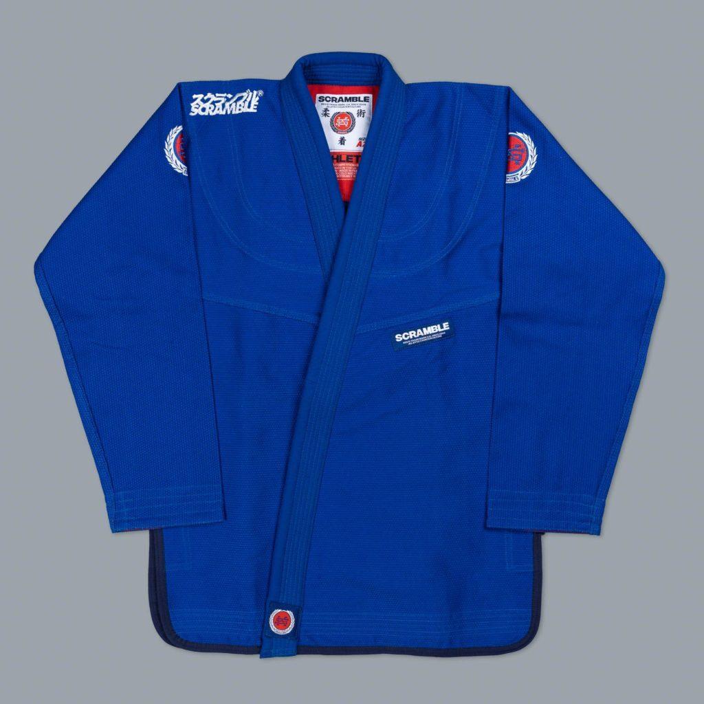 SCRAMBLE ATHLETE ブルー ブラジリアン柔術衣