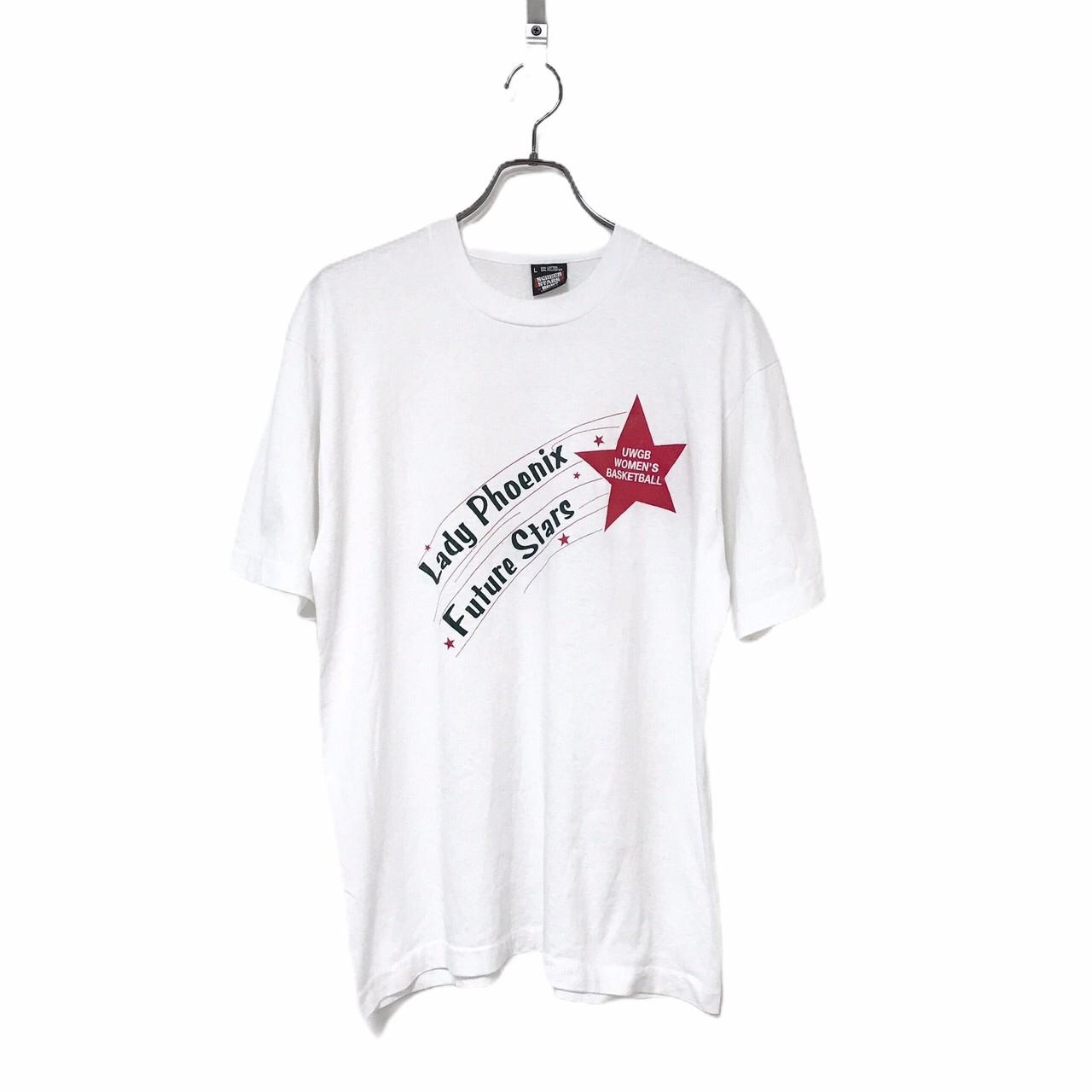 90's SCREEN STARS BEST  Lady Phoenix T-shirt made in USA L White