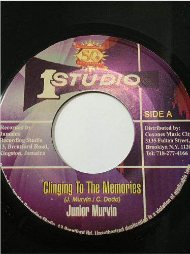 Junior Murvin(ジュニアマービン) - Clinging To The Memories 【7'】