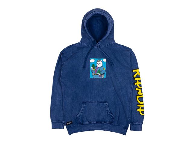 RIPNDIP|Confiscated Hoodie (Ocean Blue)