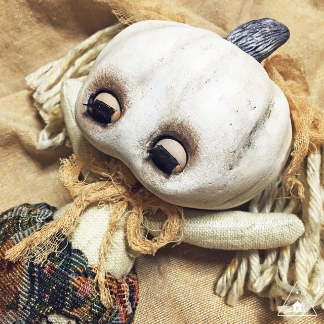 Pumpkin Head(かぼちゃあたまの子)幽霊のような子1