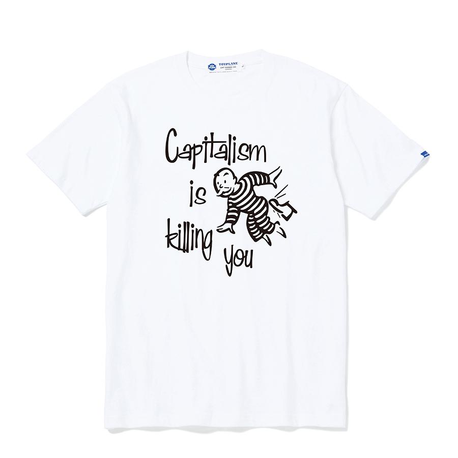 TOYPLANE / TP20-NTE07 / S/S CAPITALISM TEE