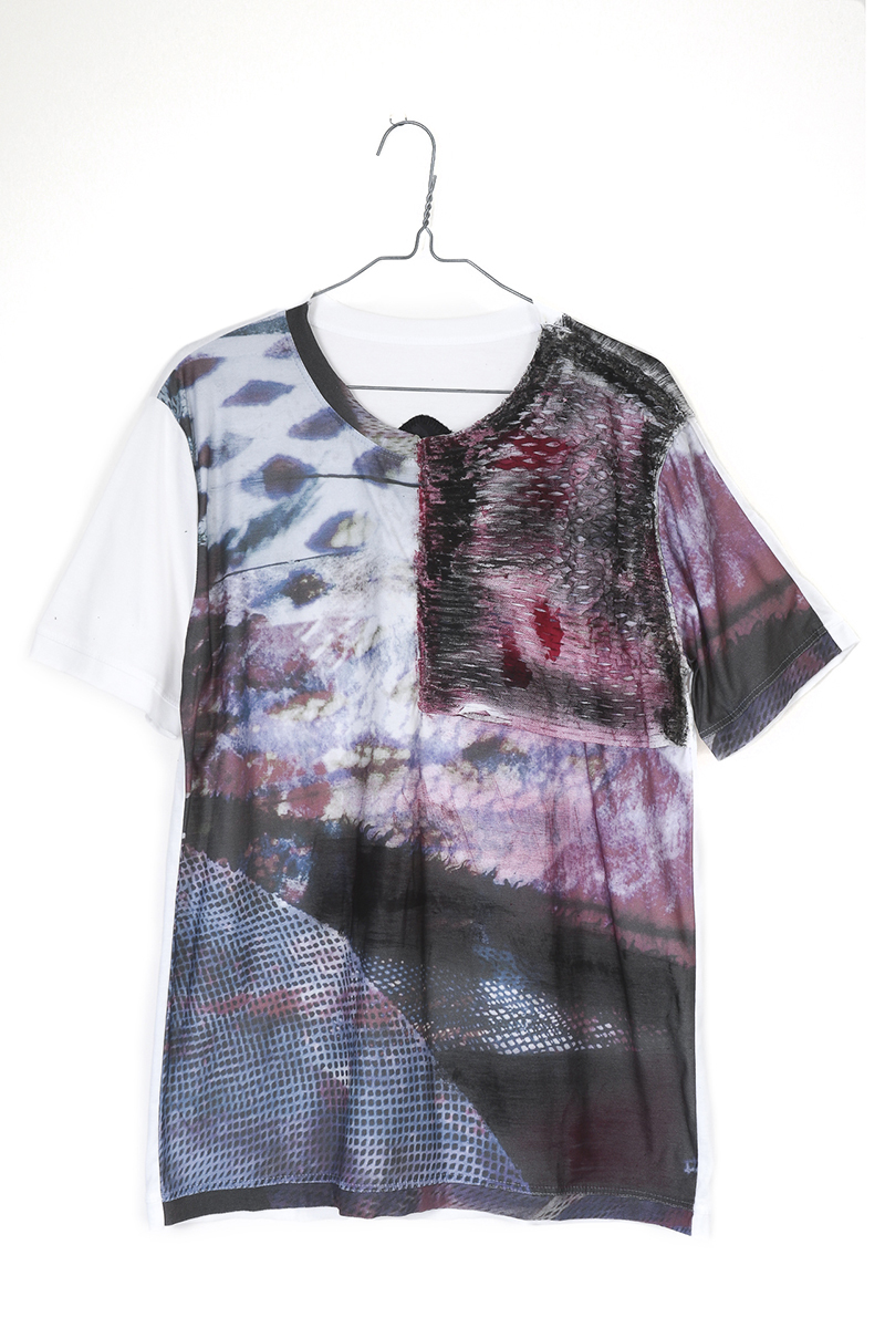 WEARABLE ART Tshirt [Article 05]MICHAIL GKINIS AOYAMA