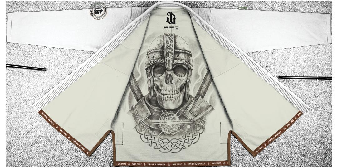 WAR TRIBE IMMORTAL WARRIOR GI ホワイト|ブラジリアン柔術衣
