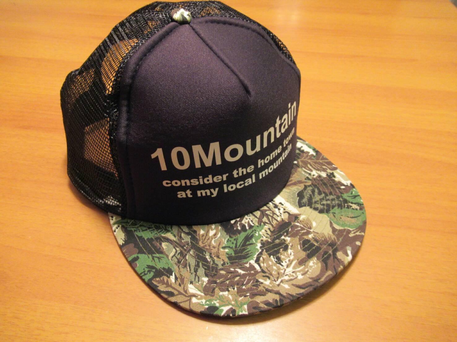 10山キャップ  10Mountain Concept