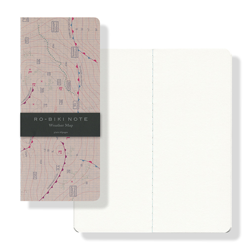 RO-BIKI NOTE MAP SERIES Weather Map(ノート)