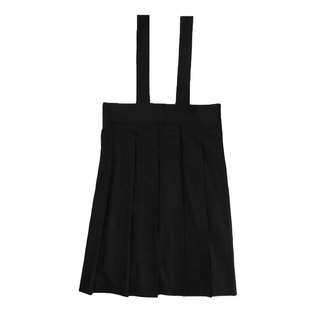 吊りスカート ブラック