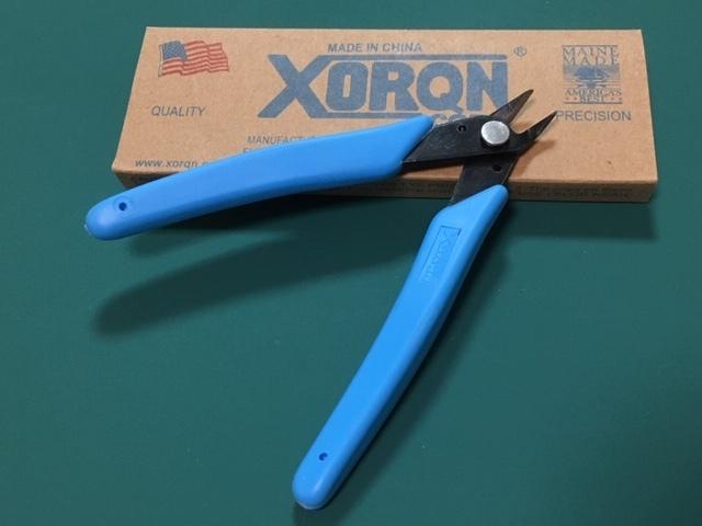 ◆切れ味抜群工作用ニッパー、結束バンドや配線、0.5mm厚位のアルミやカーボンテールパイプもカットできます。