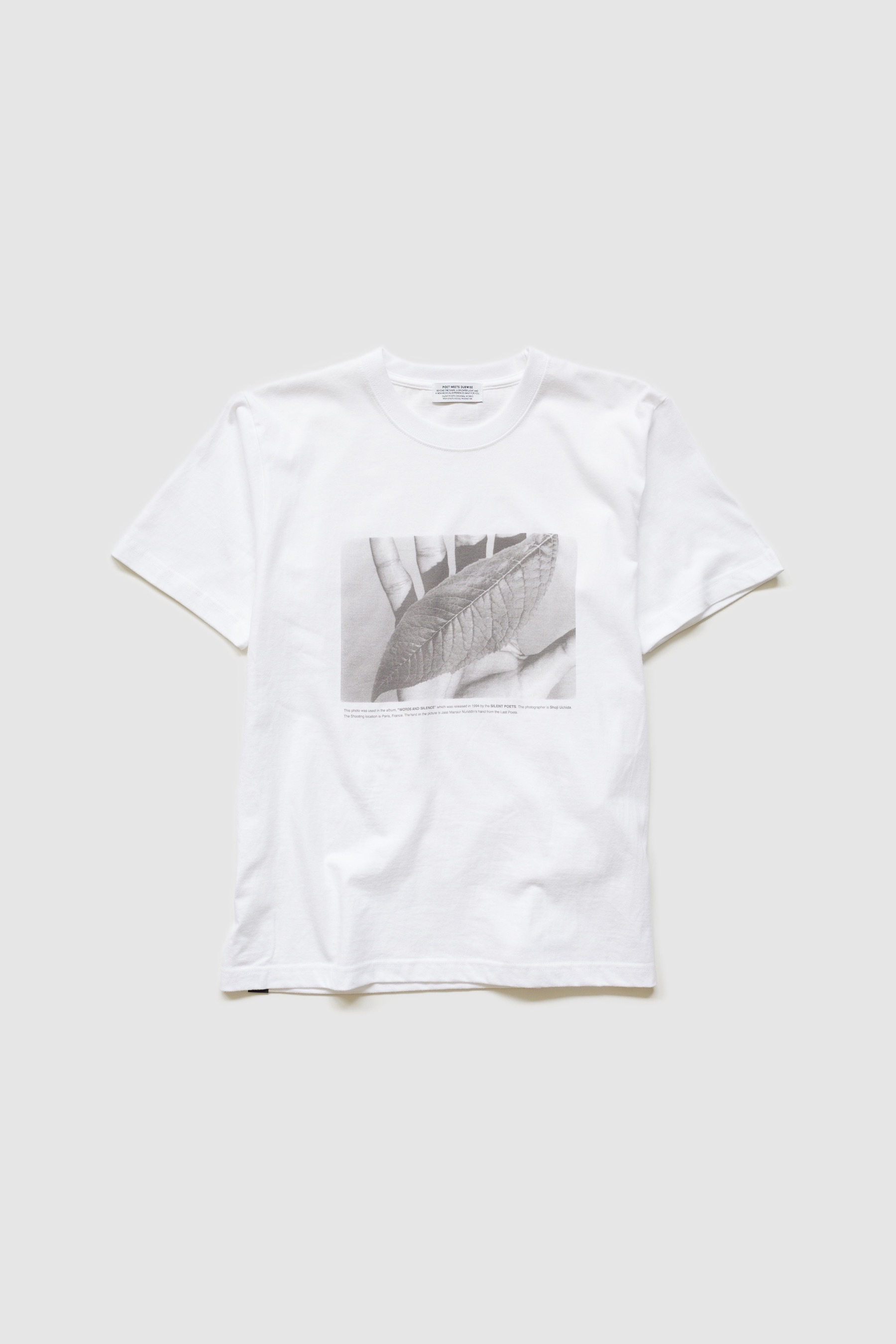 【POET MEETS DUBWISE(ポエトミーツダブワイズ)】 WORDS AND SILENCE T-SHIRTS