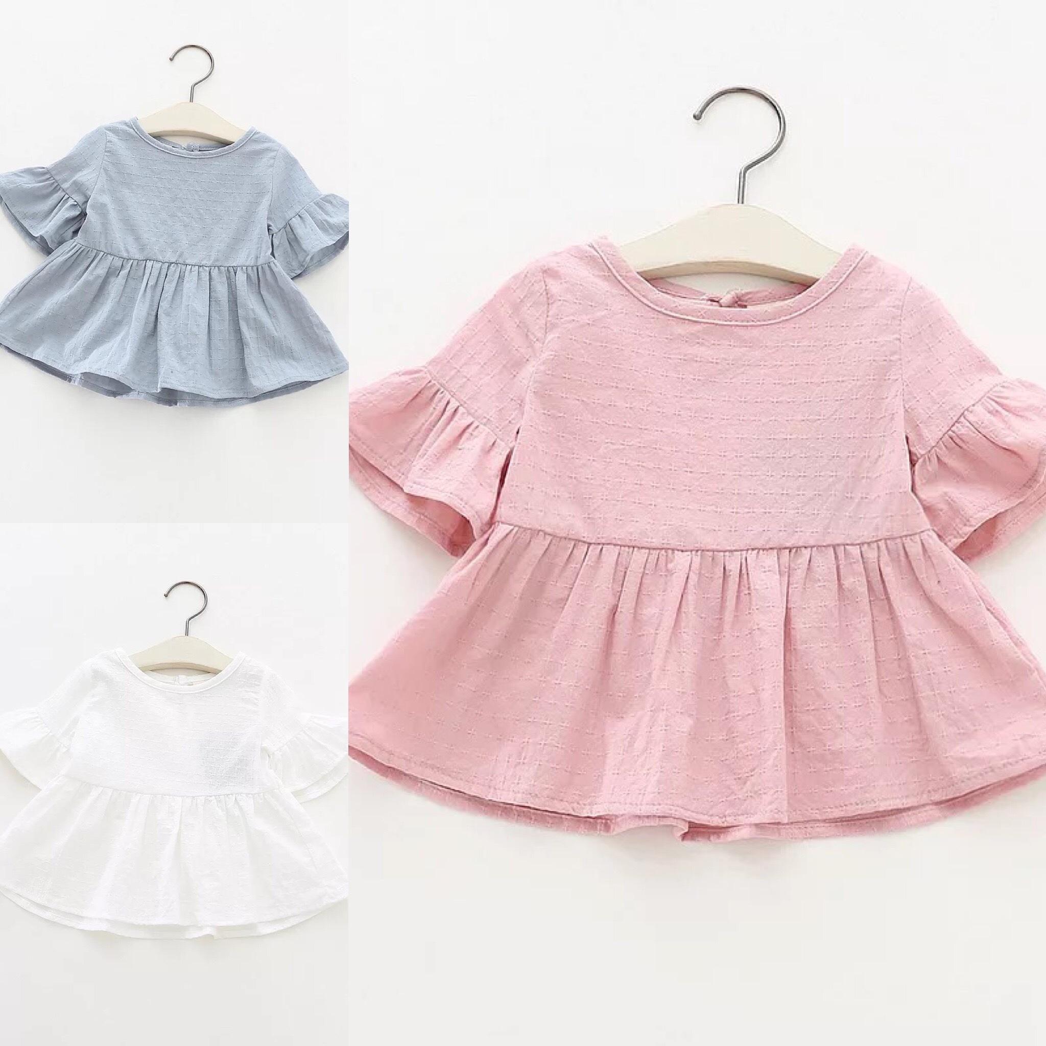 simpleフリルシャツ【523】