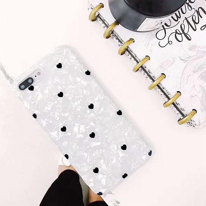 シェル ハート iPhone case