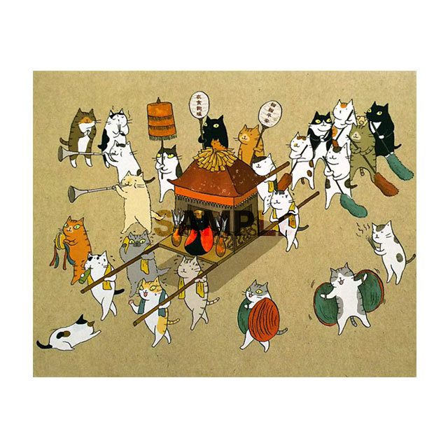 台湾ポストカード「瘋猫祖」