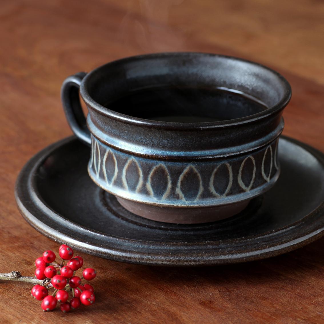 Sejer Keramik サーエ・ケラミック カップ&ソーサー 北欧ヴィンテージ
