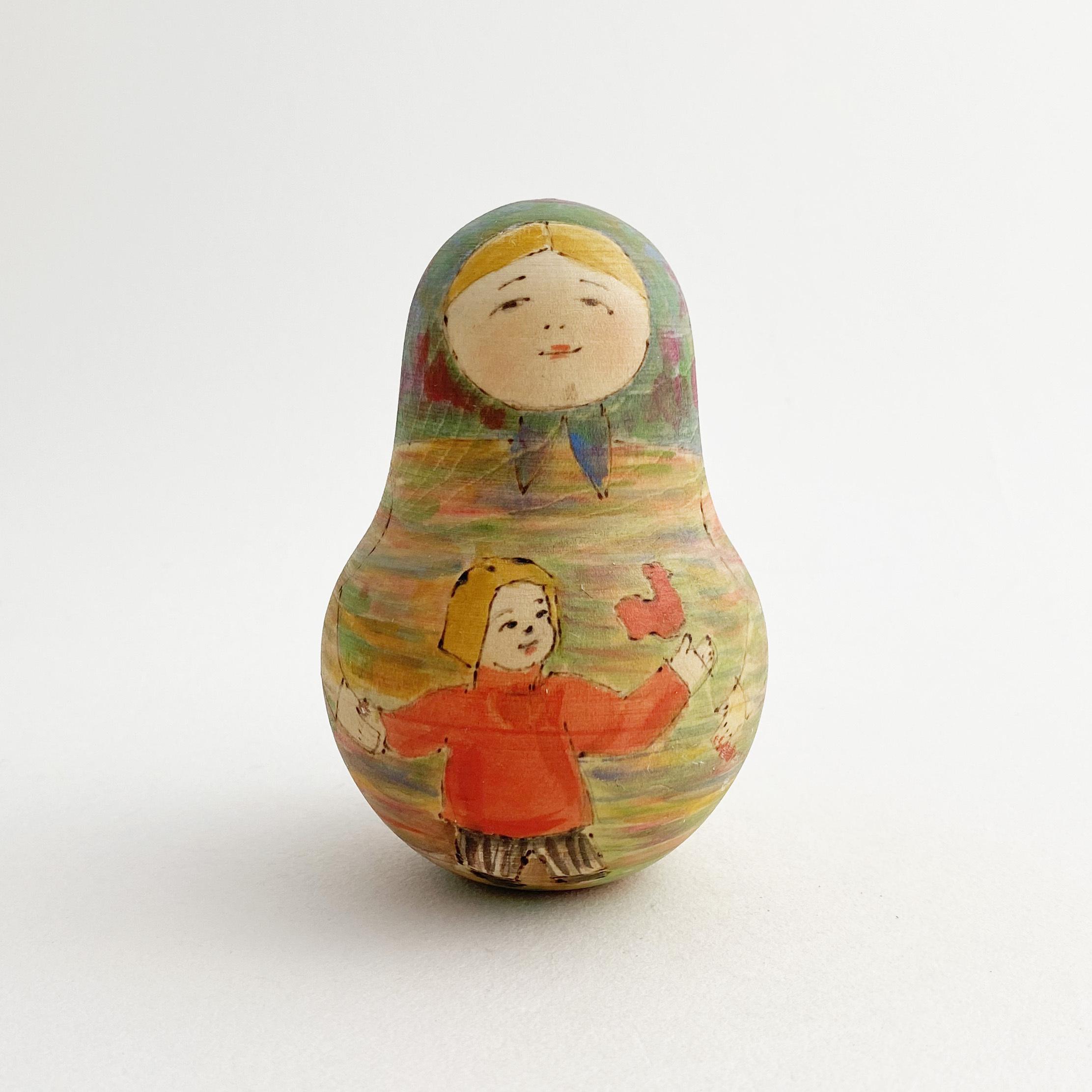 セルギエフ産マトリョーシカ/おきあがりこぼしWB