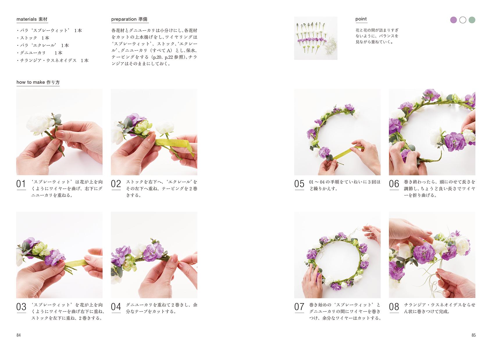 【送料無料】『小さな花飾りの本』 [書籍] - 画像4
