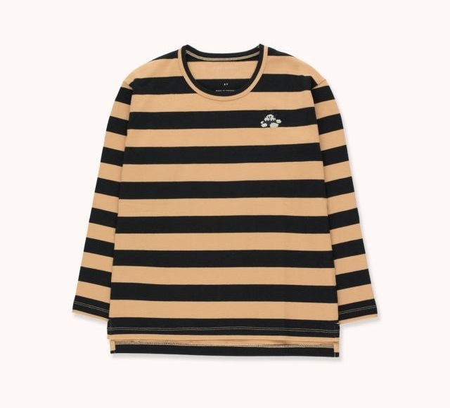 """TINYCOTTONS タイニーコットンズ """"TINY FUJI"""" STRIPES TEE  size:2Y(95-100)・8Y(120-130)"""