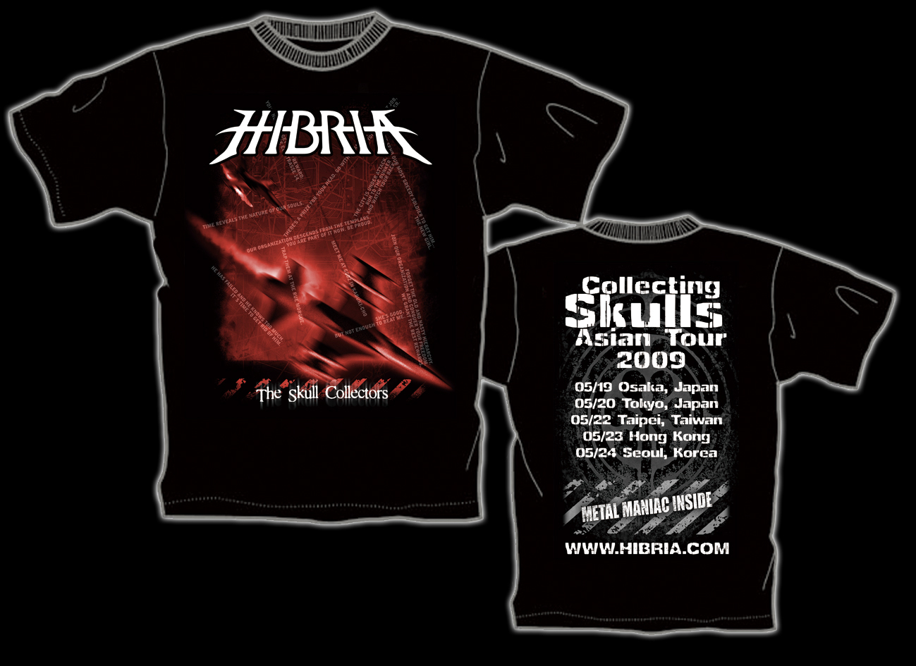HIBRIA 初来日記念限定Tシャツ