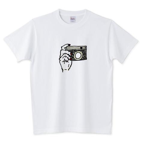 カメラのTシャツ
