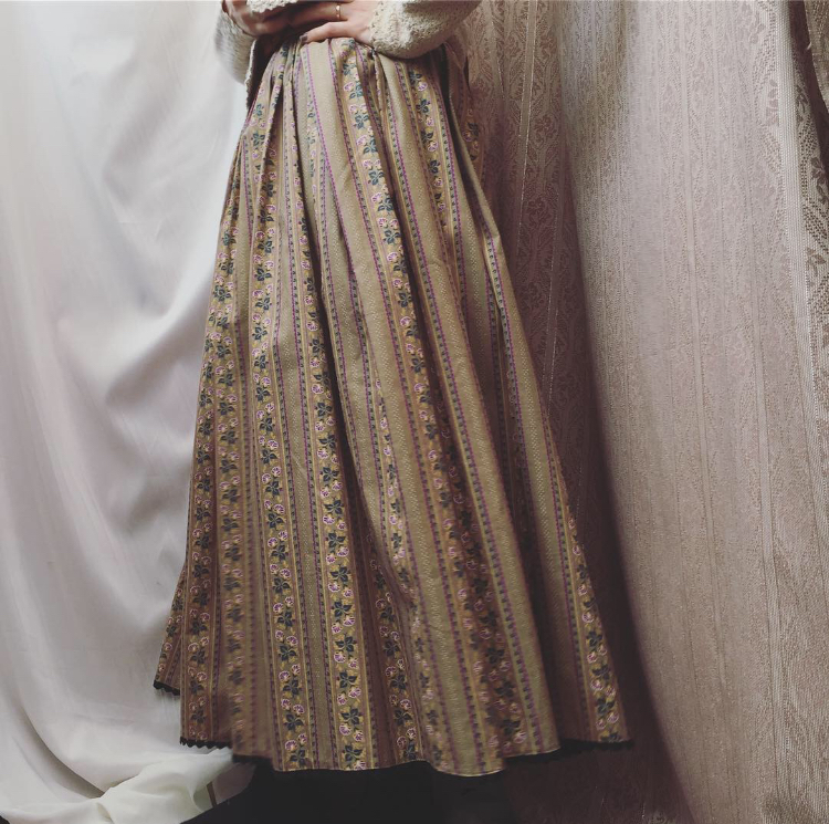 vintage design skirt