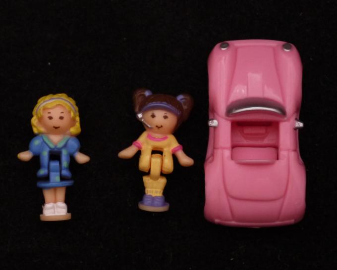 ドライブスルーハンバーガーショップ 1994年完品 ポーリータウンシリーズ