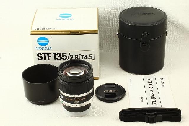 MINOLTAミノルタ STF 135mm F2.8(T4.5)◆元箱 極上品ランク/9641