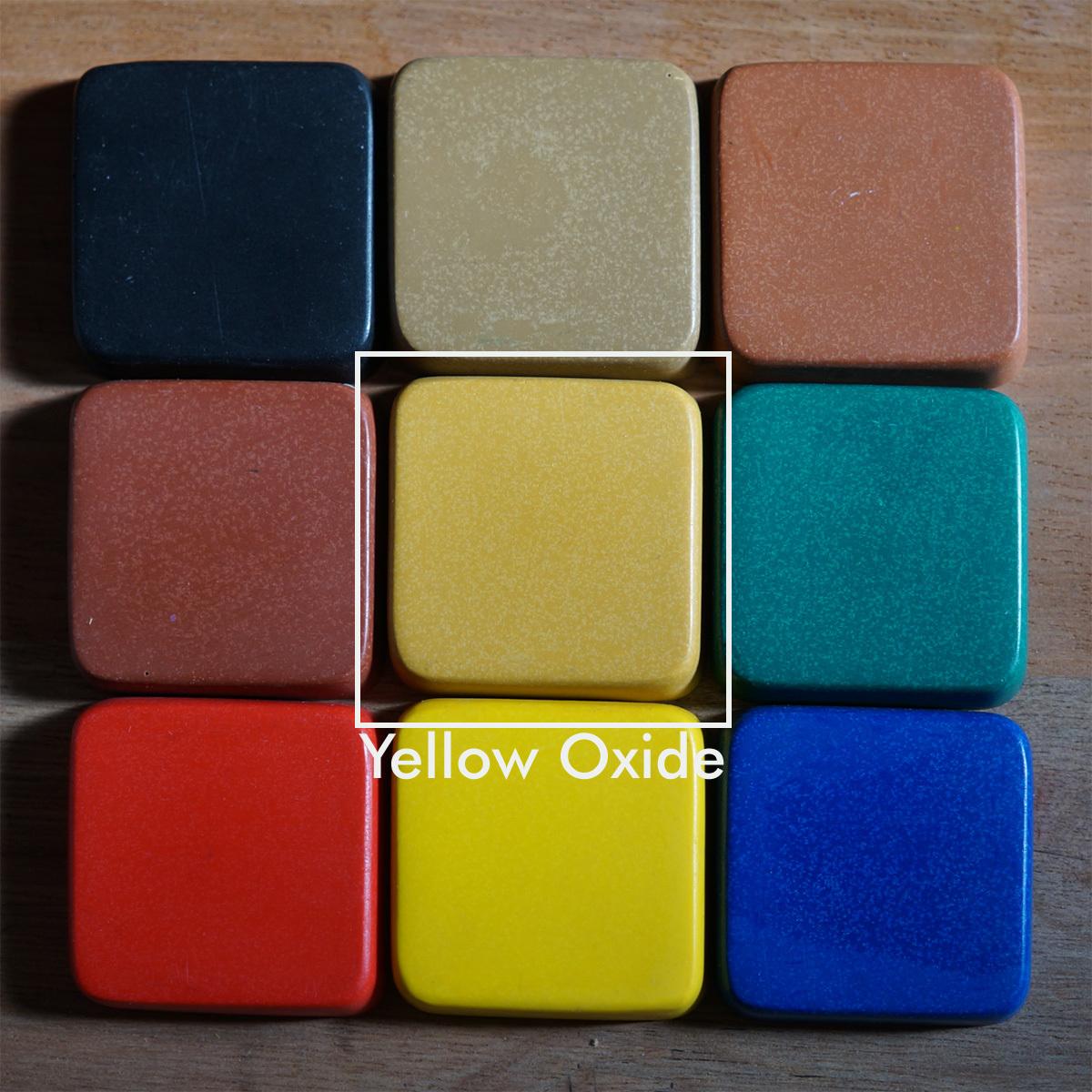 PIGMENT YELLOW OXIDE 1kg(着色剤:イエローオキソイド 1kg) - 画像2