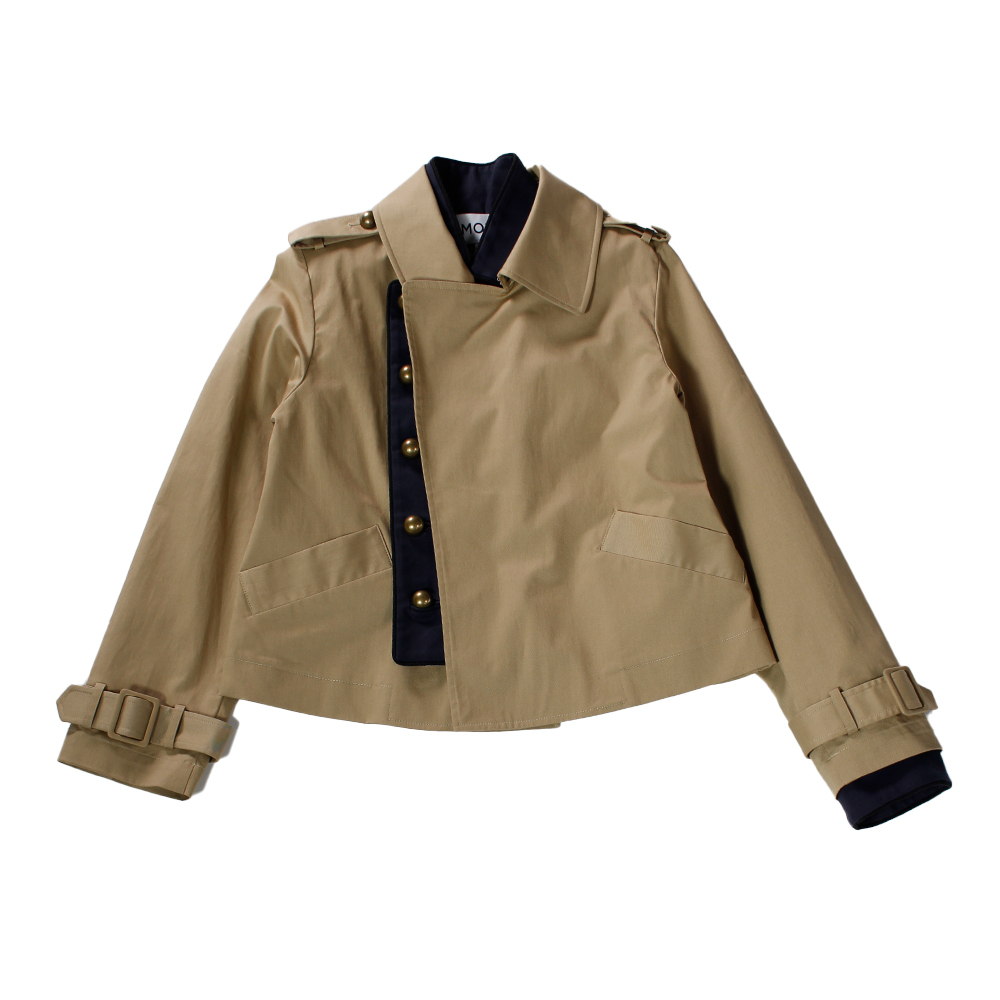 MONSE Short Trench Jacket